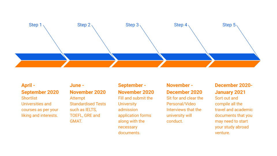 Timeline for February Intake in New Zealand